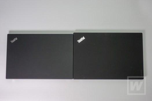 左 X280 / 右 X1 Carbon