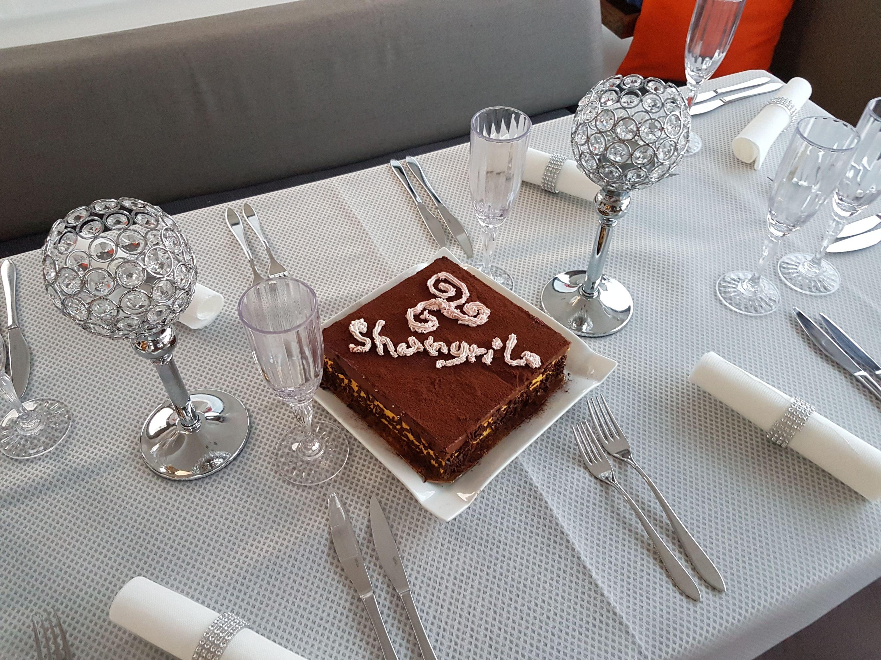 Geburtstagskuchen für Laura