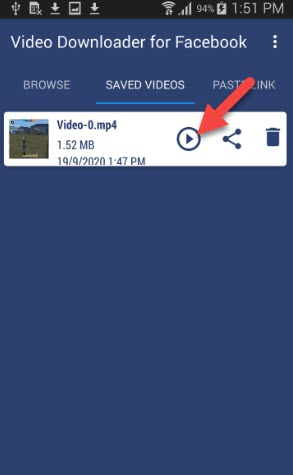 Download Facebook Video on Android
