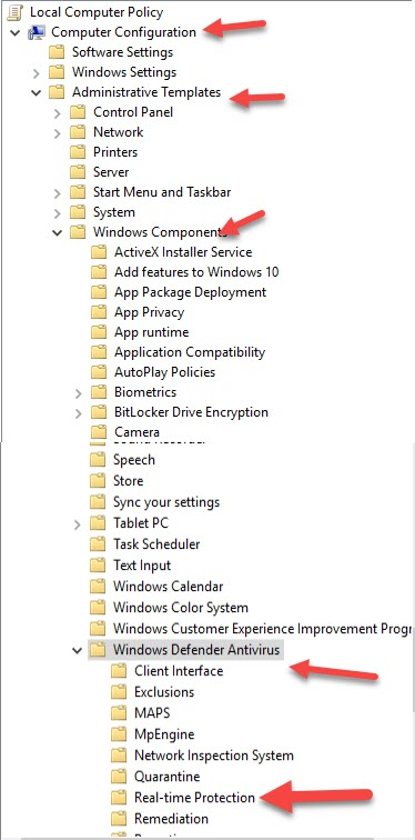 Disable Windows Defender Permanently on Windows 10