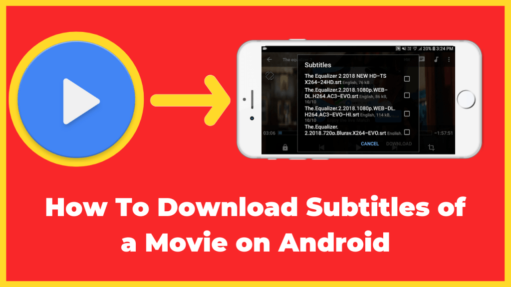 How to Download Subtitles for English Movie on Android
