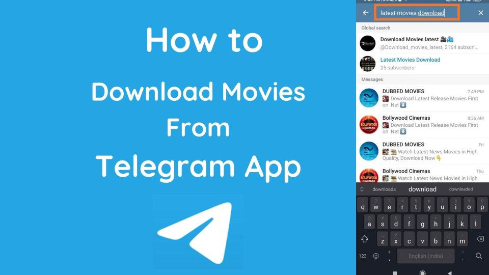 How To Watch Online Movies Free On Telegram Application
