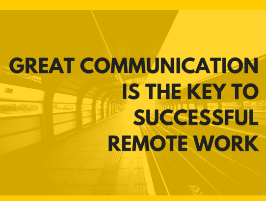 The 1 most important key to successful telecommuting