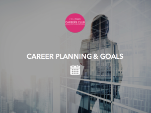 Career Planning and goals-1
