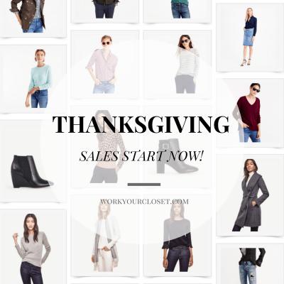 SHOP NOW: Pre-Thanksgiving Sales