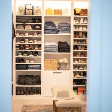 A Bright White Master Closet Reveal by Jamie Gernert, Work Your Closet