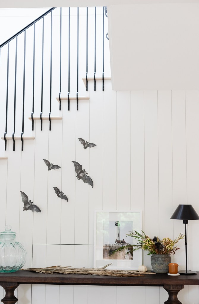 How I Sprinkle Fall and Halloween Decor Throughout Our Home