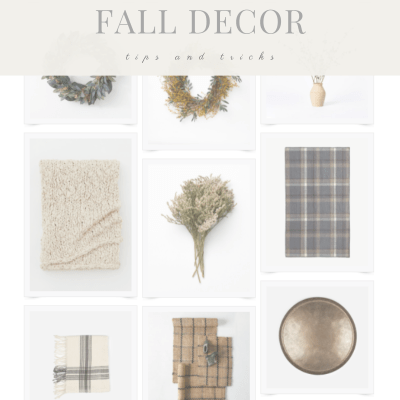 3 Simple Ways to Add Some Fall Feels To Your Interior Spaces