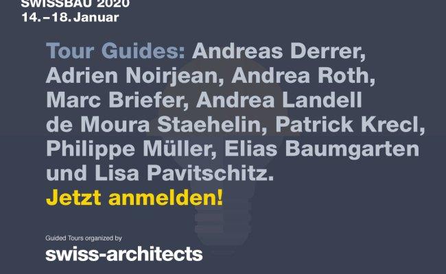 Swissbau 2020 Bringt Alles Zusammen 14 18 Januar