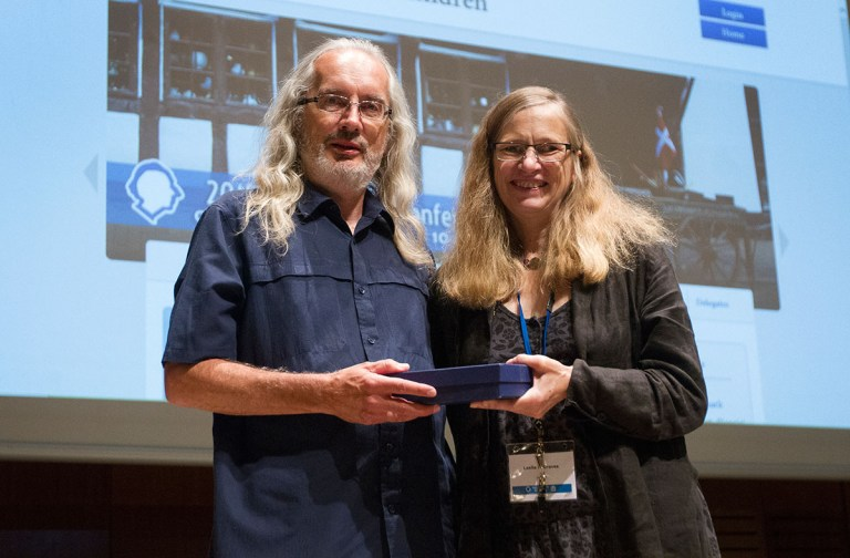 Ken McCluskey Received the 2015 Distinguished Service Award