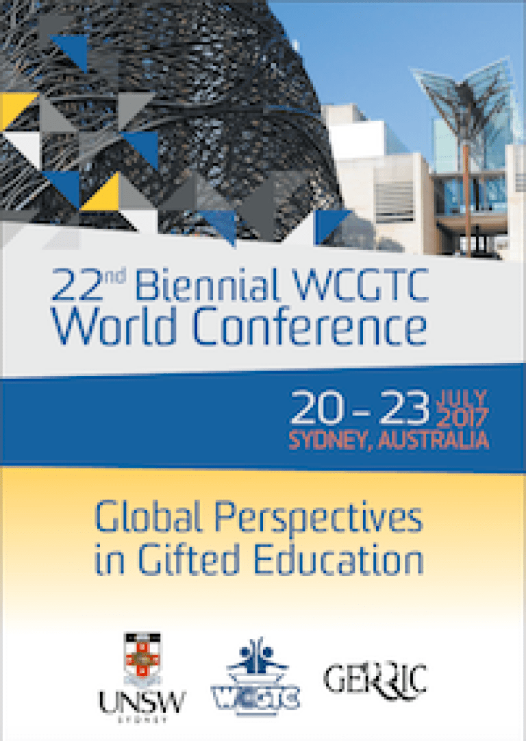 2017 World Conference Program Cover Sydney Australia