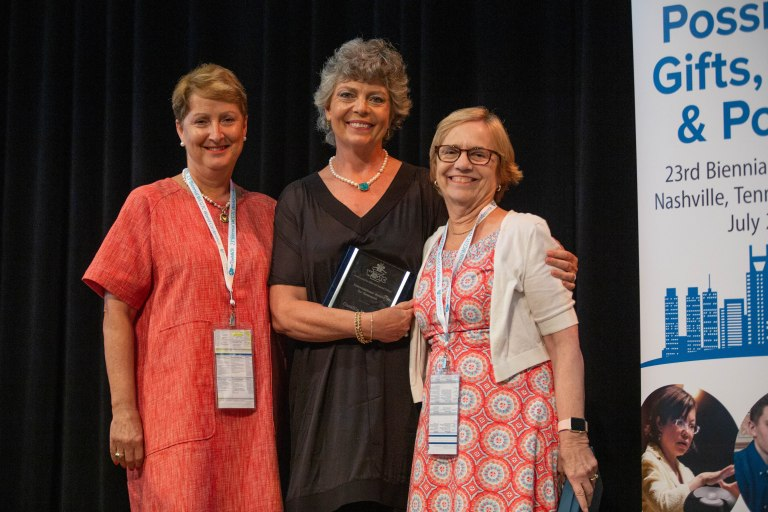 2019 WCGTC World Conference Award Recipient - Camilla Benbow - World Council for Gifted and Talented Children