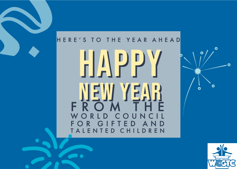 World Council for Gifted and Talented Children 2020 New Year Update