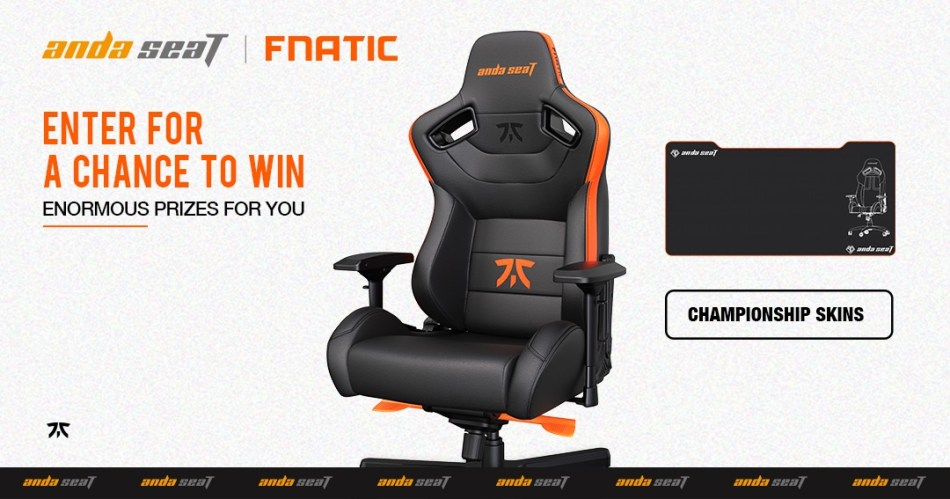 free andaseat gaming chair giveaway