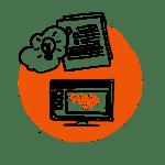 Sketch von Icon für Website