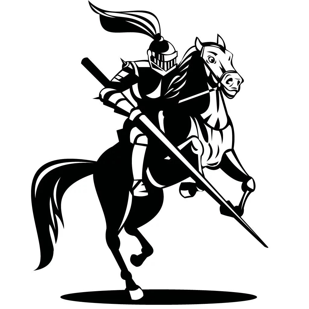 Knight On Horse Drawing Gallery