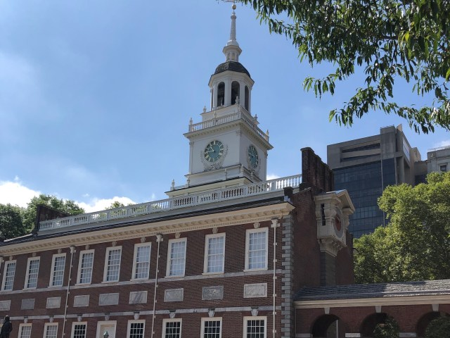 Two Days in Historic Philadelphia:  Independence Hall