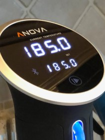 World Oyster Kitchen:  Sous-vide circulator