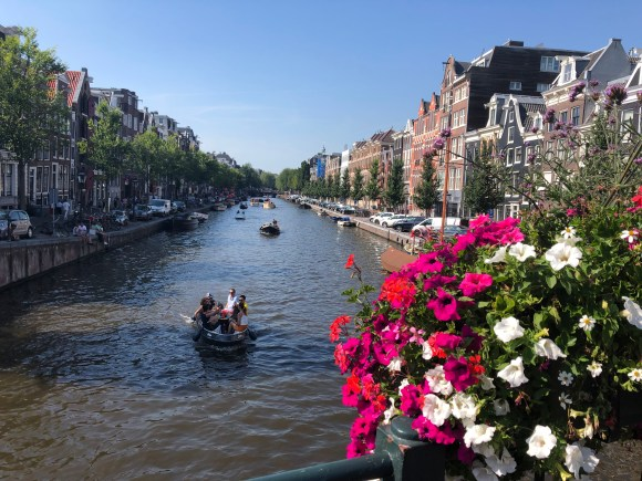 Three Days in Amsterdam:  A hot August day on the canals