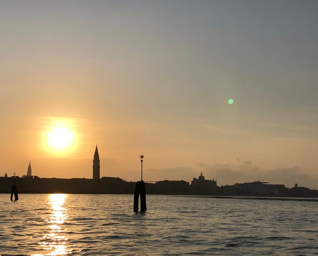 Best Things to Do in Venice:  Sunset lagoon tour