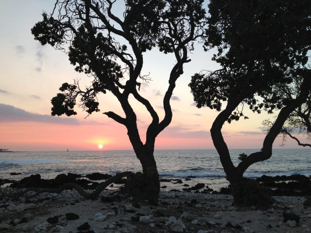 Best Things to Do on the Big Island:  Sunset on the Kohala Coast