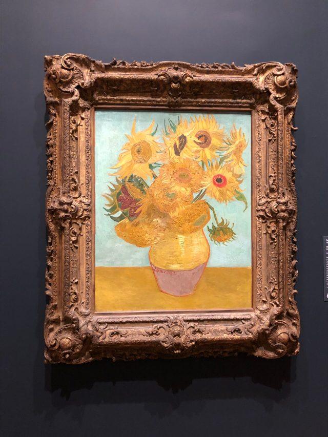 Art in the Time of Coronavirus:  one of Van Gogh's Sunflower series