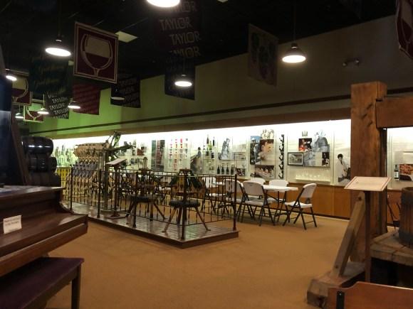 Finger Lakes Wine Tour: Memorabilia Inside the Pleasant Valley Wine Co.