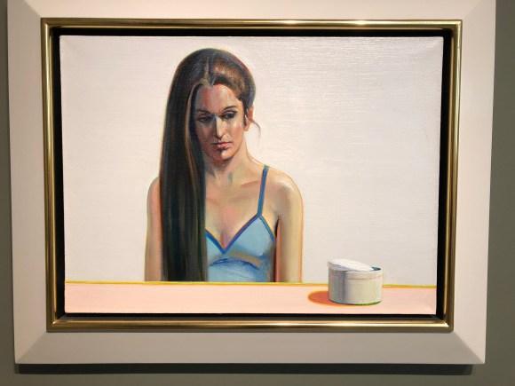 Tour of San Diego:  Make Up Girl by Wayne Thiebaud