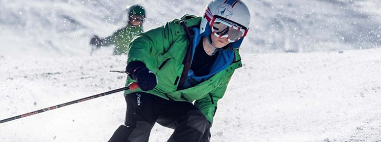 """The day our pupils skied with a """"down-to-earth"""" star"""