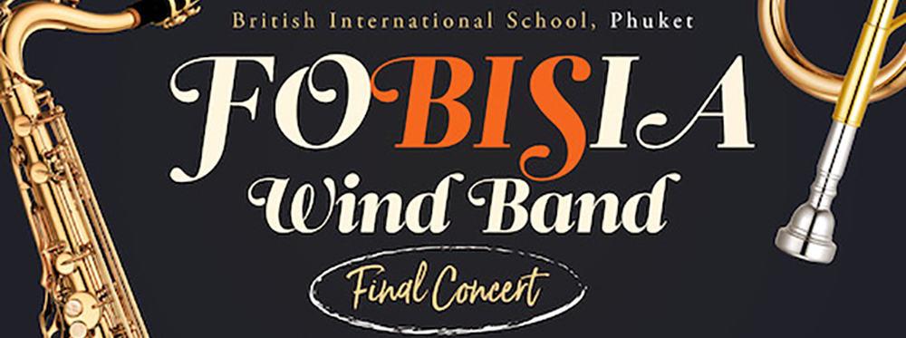 FOBISIA Wind Band & Siam Sax Quartet at BISP