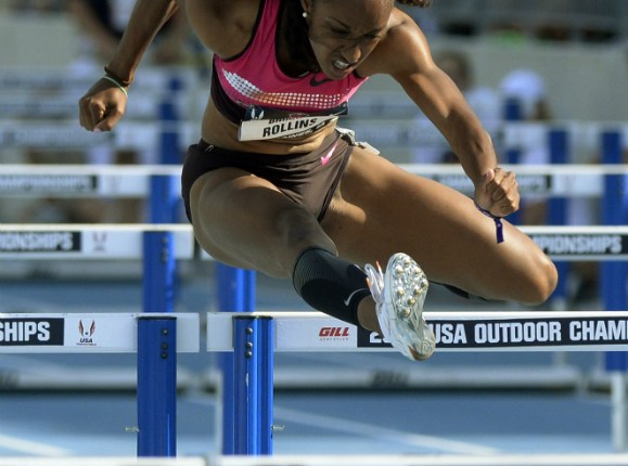Brianna Rollins flirts with world record to win 100m hurdles in AR of 12.26 – U.S. Trials