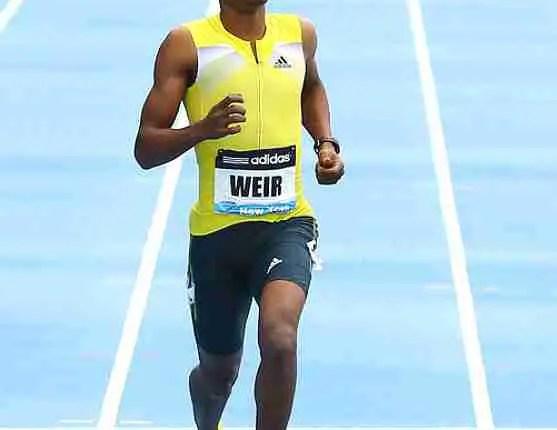 Olympic bronze medallist Weir wins 200m at Edmonton meet in 19.90 (w)