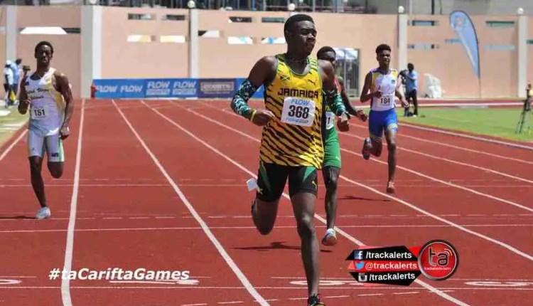 Jamaica Dominates Carifta Games 2016 Day 1