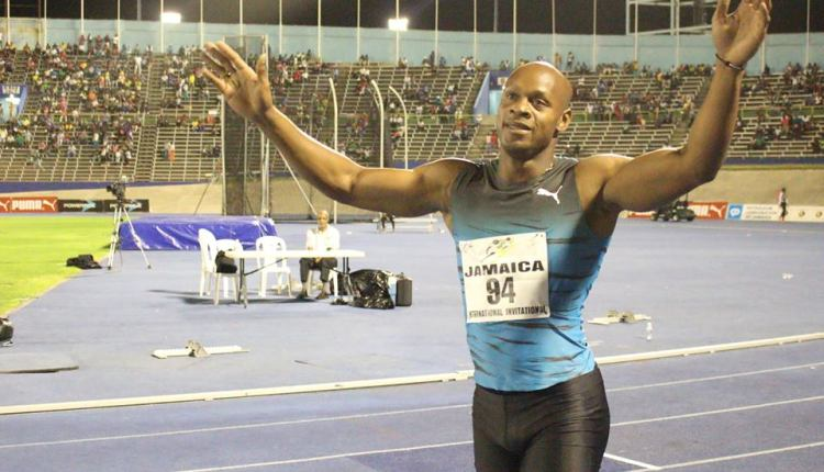 Asafa Powell Disappointed With Defective Mic At Prefontaine Classic