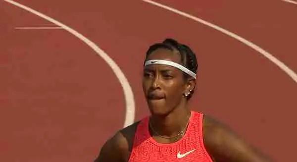 English Gardner v Elaine Thompson In Rome 100m