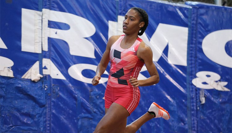 Drew Hunter Wins On Debut; Ajee' Wilson Very Fast Over 600m