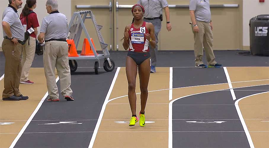 Daina Harper: SEC Indoor Track and Field Championships