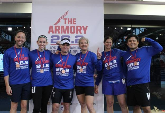 Excitement For 2nd Annual NYC Indoor Marathon Team Relay