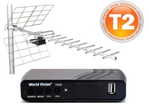World Vision T62D + Energy SRT ANT 11