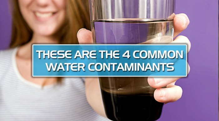 featured11 - These are the 4 common water contaminants