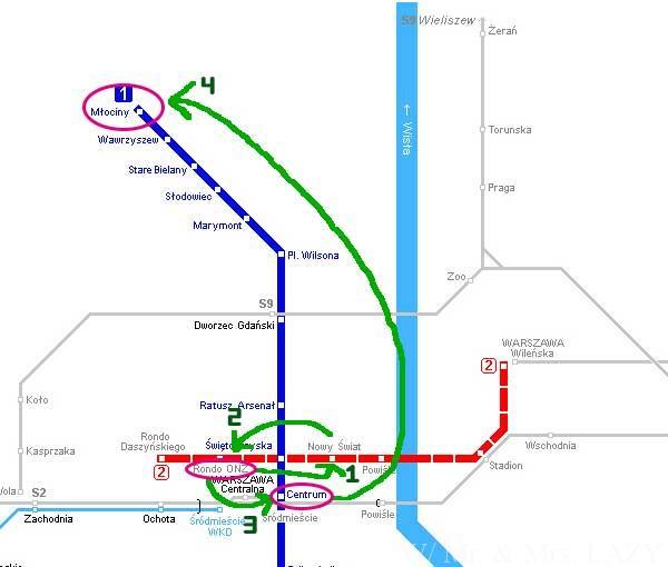 メトロ路線図