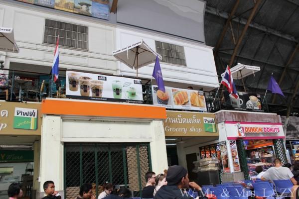 バンコク中央駅 構内 カフェ