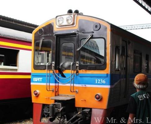【情報】バンコクからアユタヤまで電車移動