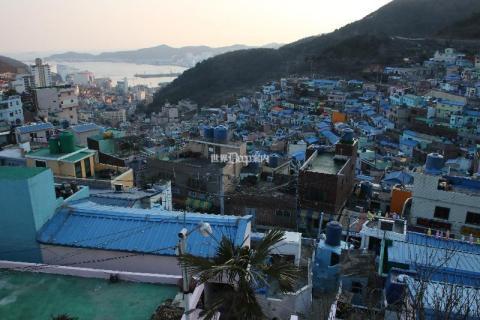 韓国 釜山 甘川洞