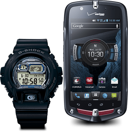 for Android  Main Features  BLUETOOTH WATCH  GSHOCK  CASIO