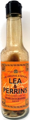 How much sugar in Lea & Perrins Worcestershire Sauce?
