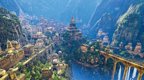 Image result for City of Agartha