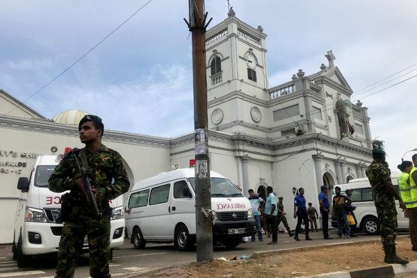 Sri Lanka bombings kill 138, injure 560