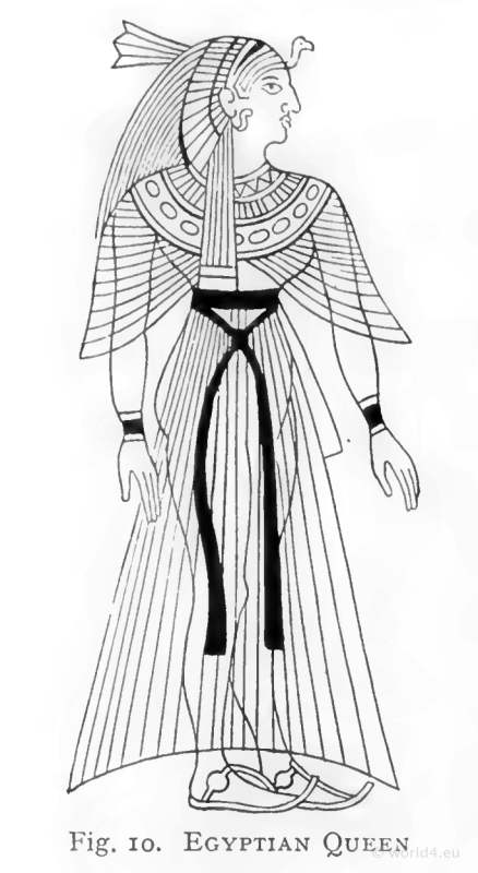 Costumes égyptiens antiques-2997