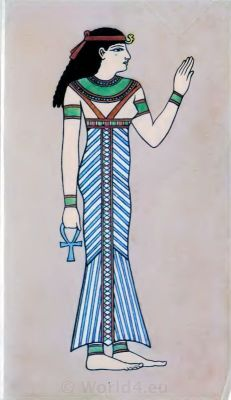 Ancient Egyptian costumes. Egypt Queen costume. How to wear ancient Egypt costumes.